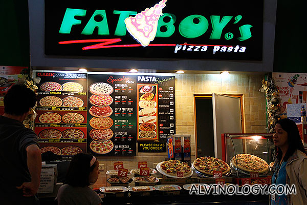 Pizza stall