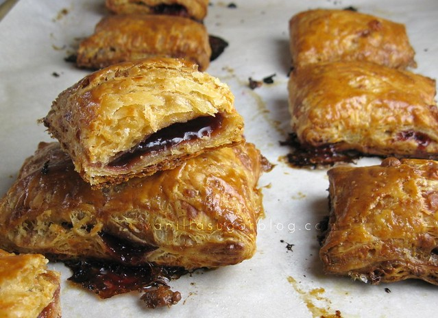 raspberry & cheddar hand pies
