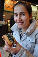 Terimayo hot dog