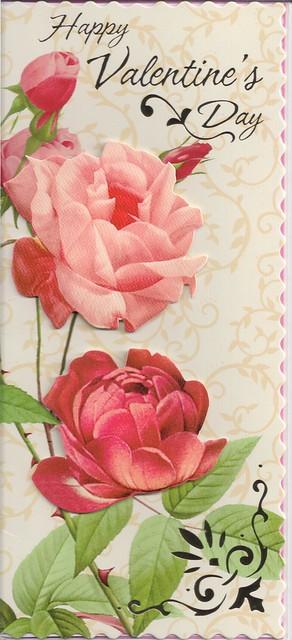 Happy Valentine's Day-Roses