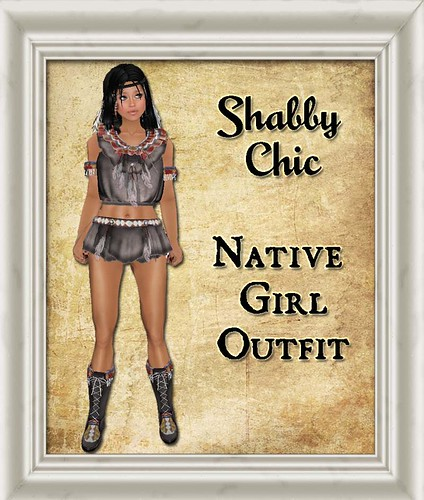 Shabby Chic Native Girl Outfit by Shabby Chics