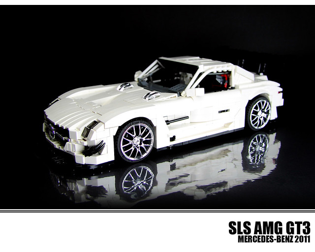 lego mercedes benz sls amg gt3 a photo on flickriver. Black Bedroom Furniture Sets. Home Design Ideas