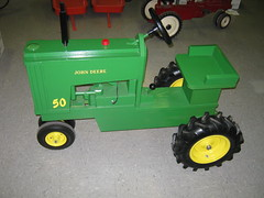 Wooden Pedal Tractor Plans