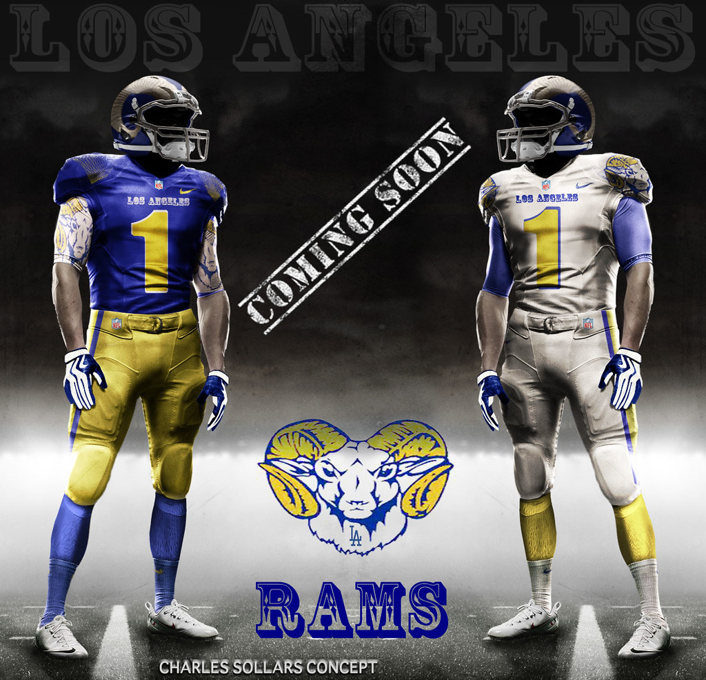 Former L.A. Rams would like current L.A. Rams to bring back old uniforms 5de8fe3dc