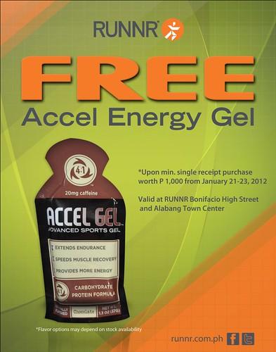accel gel GWP promo