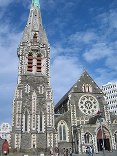 Christchurch Cathedral, NZ South Island