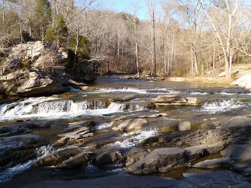 creek turkey waterfall alabama falls rapids bhamref 2012 turkeycreek pinson jan2012