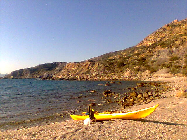Kayak en isla Torrosa