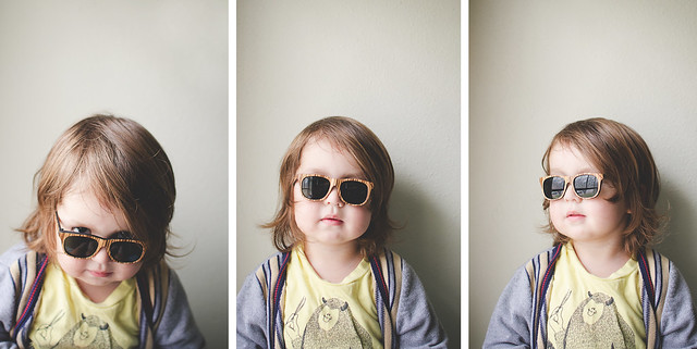 triptych: little sunnies