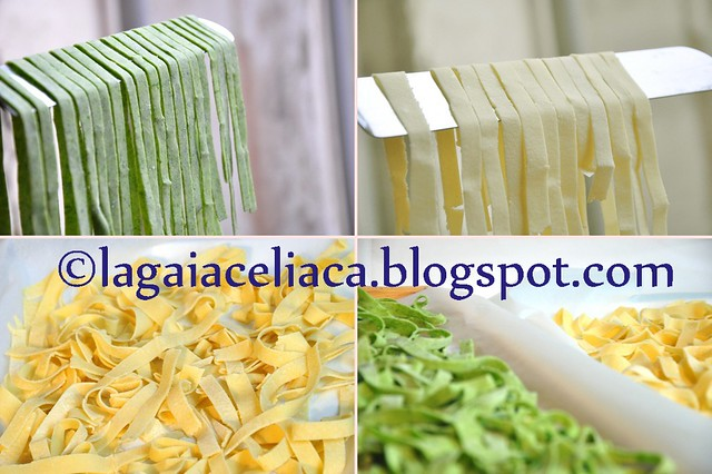 tagliatelle al ragù -  the making of