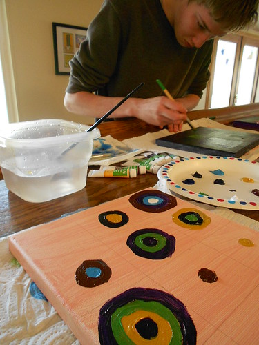 In Progress: Rothko and Kandinsky