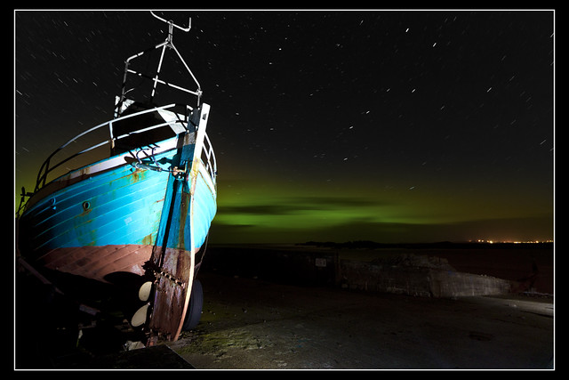 Northern Lights / Aurora Borealis from Urris.