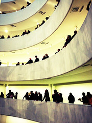 Silhouettes at The Guggenheim
