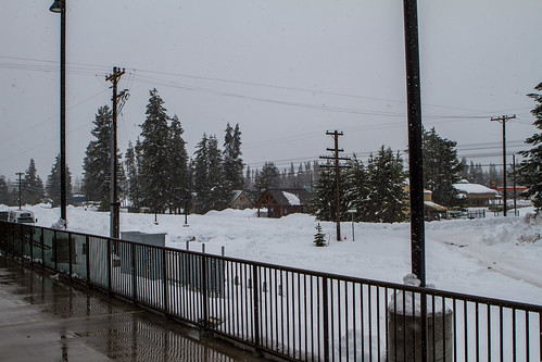 trip vacation snow oregon train amtrak klamath