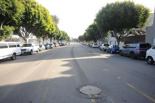 Main Street Road Diet Venice Beach