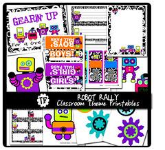 Robot Rally Classroom Theme