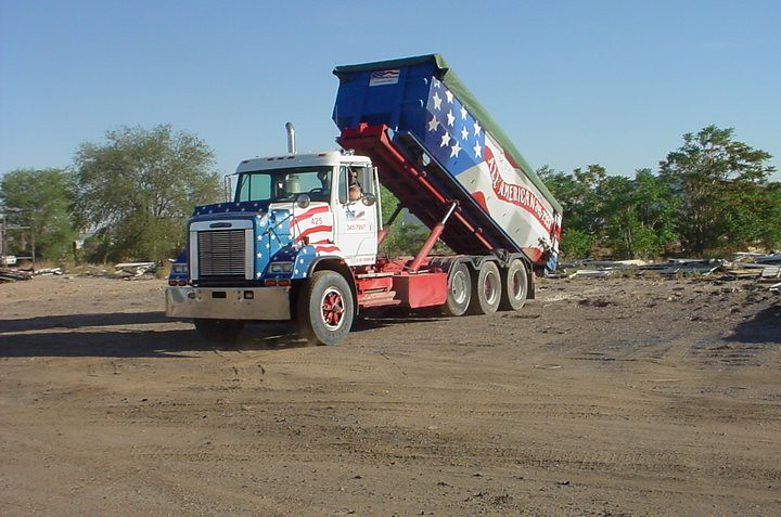 All American Waste Removal Freightliner Roll Off