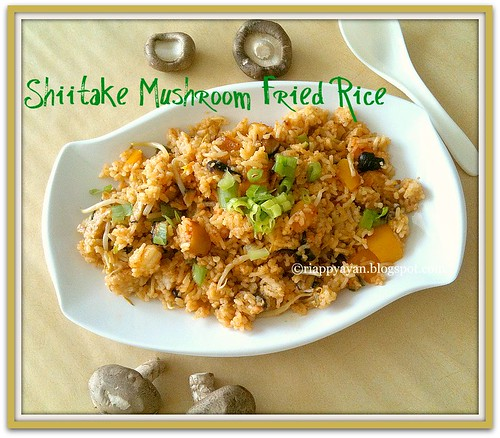 Fried Rice With Shiitake Mushrooms Recipes — Dishmaps