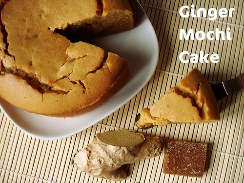 Ginger Mochi Cake 薑汁片糖烤年糕