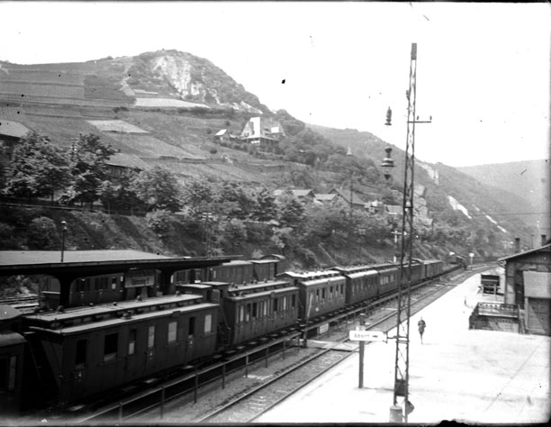 Train en gare de Bingerbrück (Rhénanie-Palatinat)