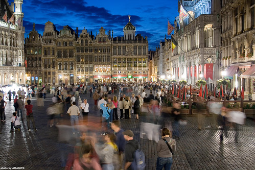 Grand' Place, Brussels (by: Vase Petrovski, creative commons license)