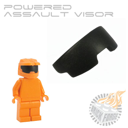 Powered Assault Visor - Black