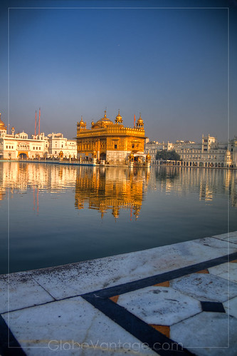 Amritsar Golden Temple day HDR 1