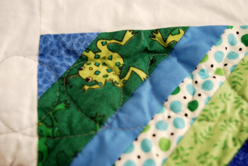 Frogs- String Quilt