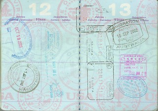 passport #3: USA, Australia, Mexico, Germany, Spain, South Korea