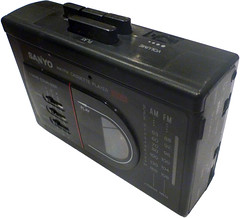 SANYO AM/FM Cassette Player Stereo