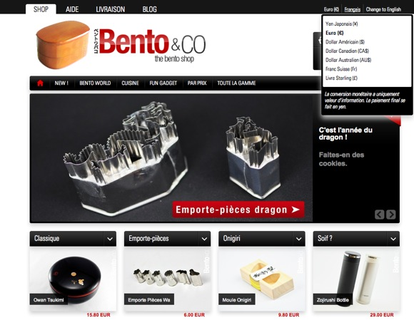 Bento&co - Monnaies