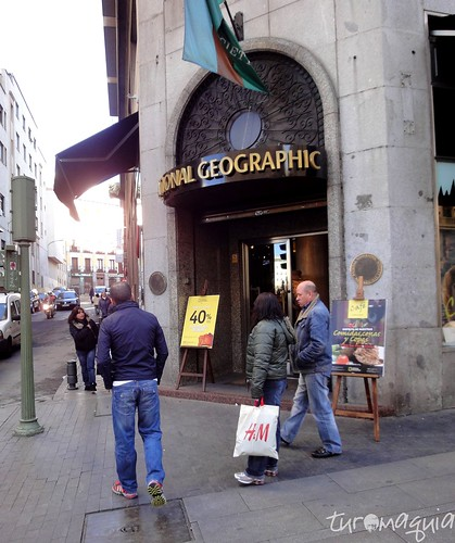 National Geographic Cafe - Madrid