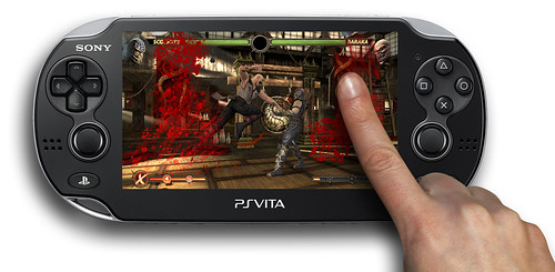 Mortal Kombat for PS Vita: Bloody Mess