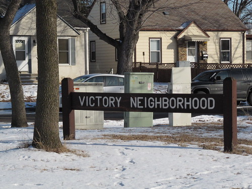 Victory Neighborhood Sign