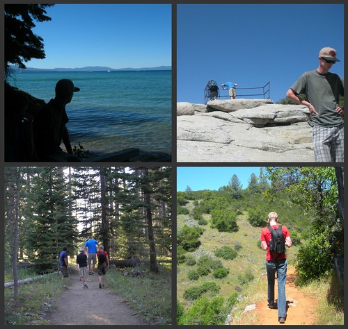 Boys Hiking Collage