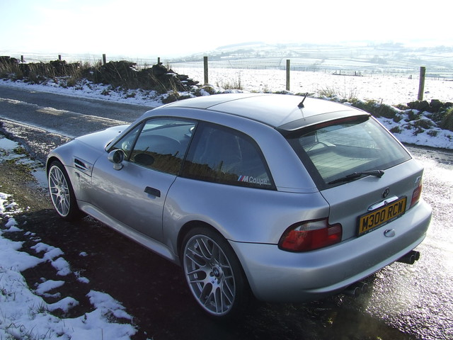 2000 M Coupe | Titanium Silver | Black | Style 163 BMW CSL Wheels
