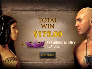 free The Mummy slot bonus
