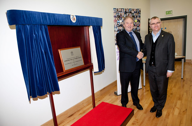 Harborne pool official opening cllr mike whitby and cllr for Pool show birmingham