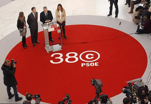 EL escenario del 38º Congreso del PSOE