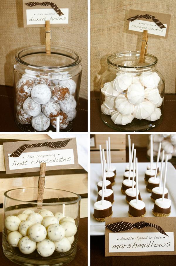 pen paper flowers real parties rustic bridal shower. Black Bedroom Furniture Sets. Home Design Ideas