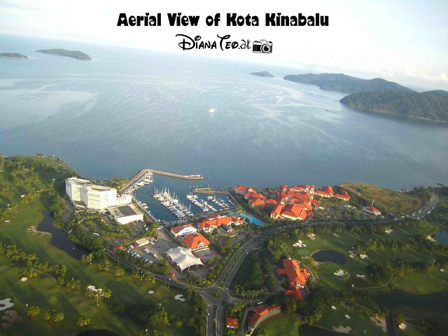 Aerial View of Kota Kinabalu 03
