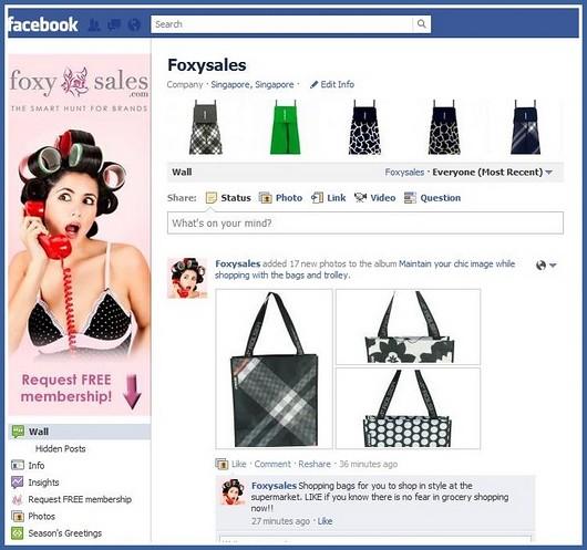 Online shopping club