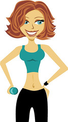 cartoon_fitness_lady