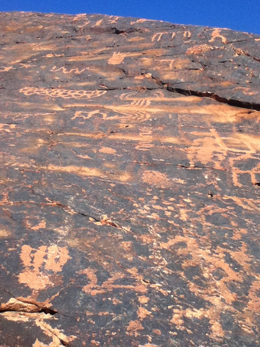 Petroglyphs, Valley of Fire State Park @ Nevada 12.2012