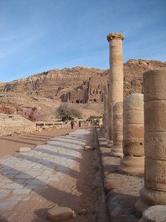 The Colonnaded Street, Petra