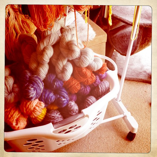 more super bulky and bulky hand dyed yarn