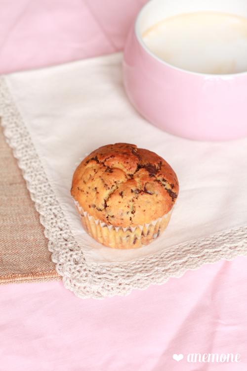 Muffins ricotta cioccolato e latticello