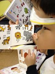 今日の絵本読むとらちゃん(2012/2/6)