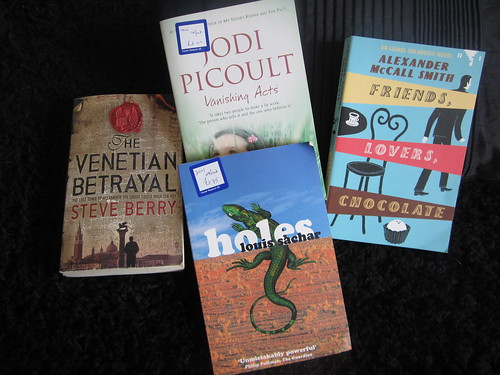 charity shop book haul by reveriesdelorin