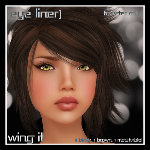 [mock] Wing It Eyeliner Only  by Mocksoup